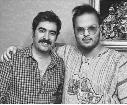 تصویری متفاوت از شهاب حسینی در کنار پسر بزرگش