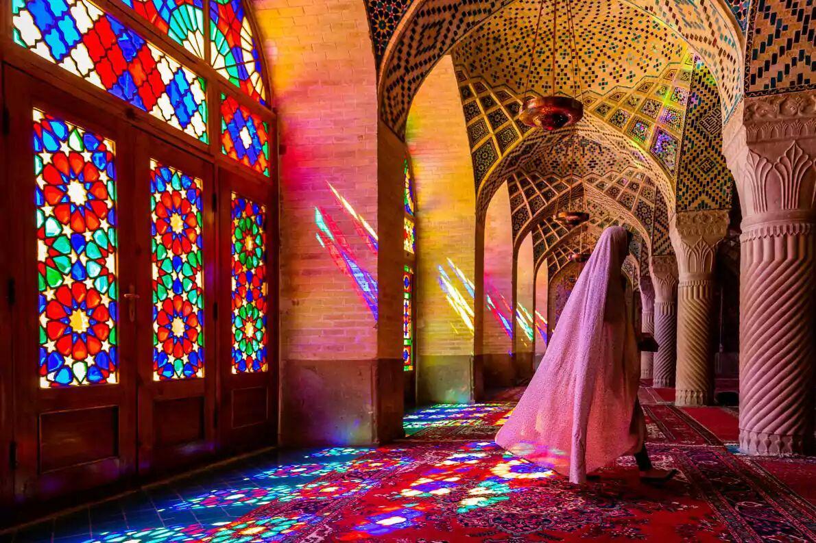 مسجد ایرانی، عکس منتخب نشنال جئوگرافیک +عکس