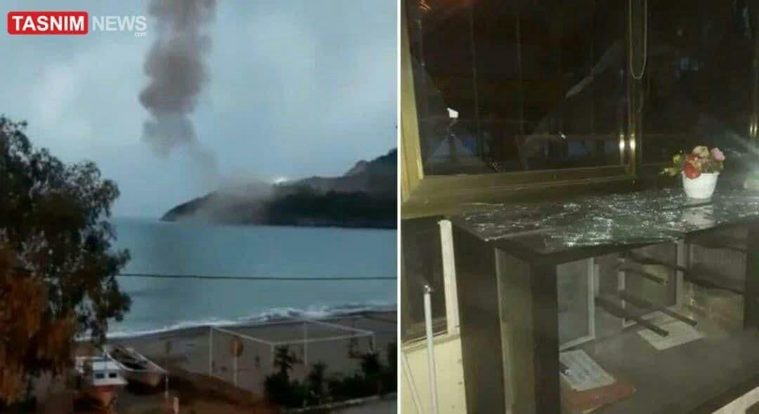 انفجار دینامیت در نیروگاه هستهای ترکیه +عکس