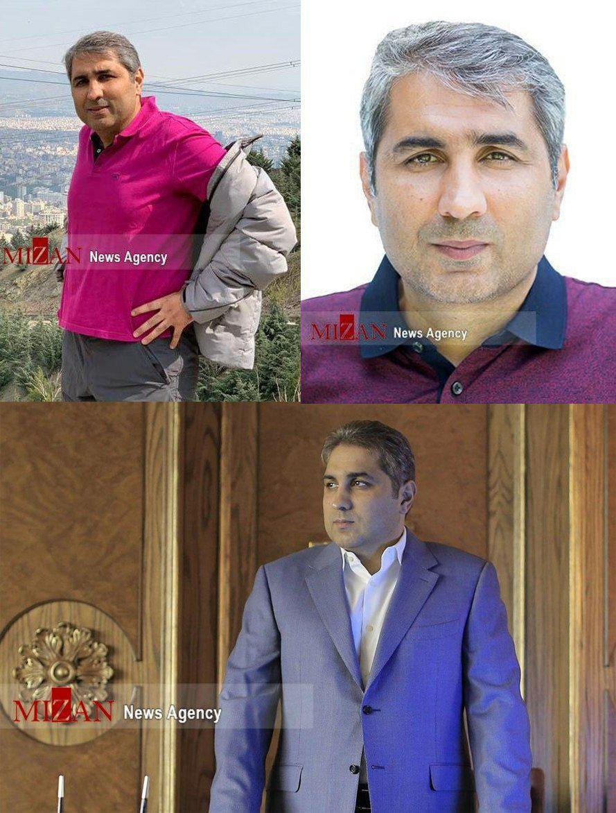 اولین تصاویر یکی از عناصر اصلی و فراری شبکه ارتشاء اکبر طبری