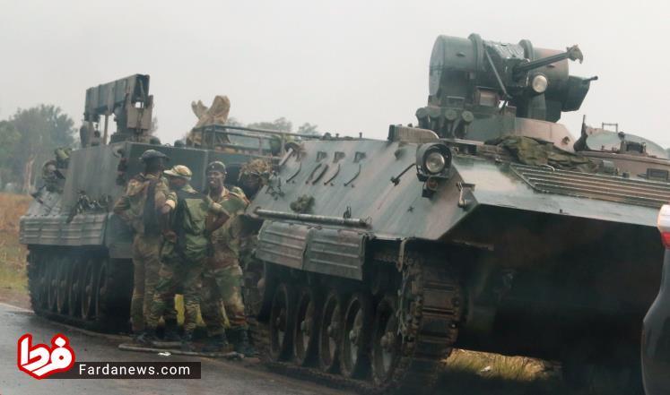 زیمباوه کودتا رابرت موگابه دیکتاتور