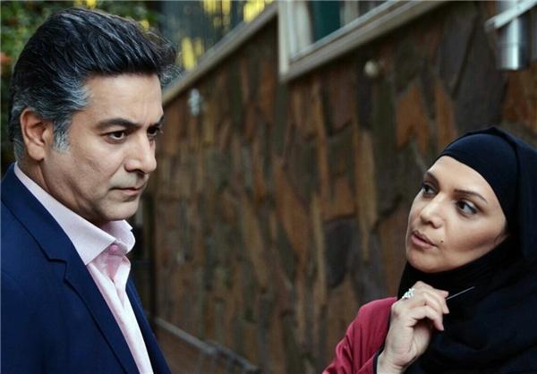 حمیدرضا پگاه و الهام پاوهنژاد در یک سریال