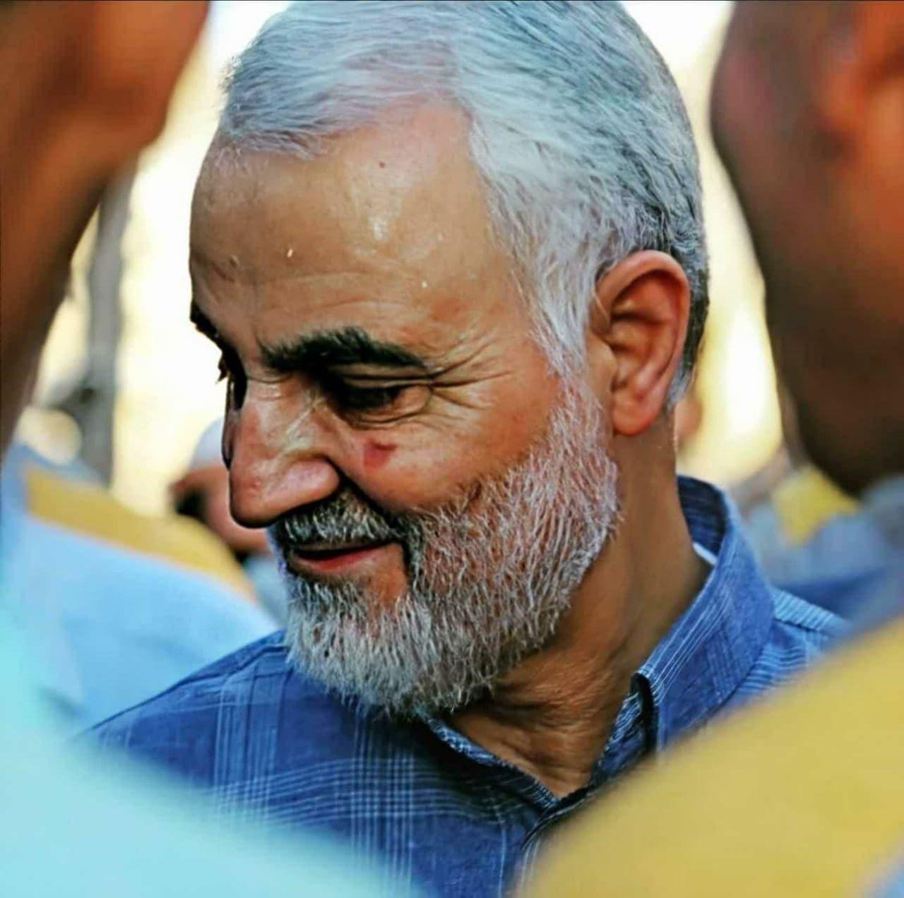 انتشار تصویر جدیدی از سردار سلیمانی