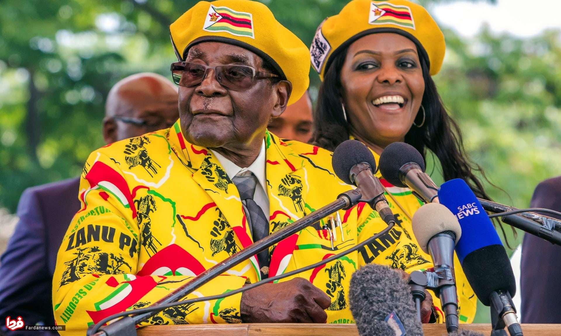 پایتخت در تصرف تانکها؛ کودتای نظامی علیه موگابه؟ + عکس