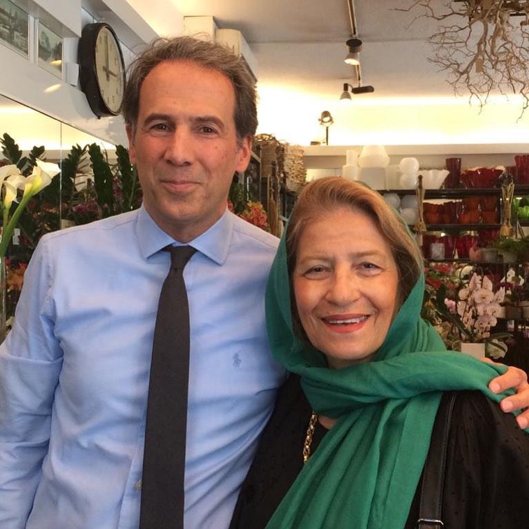عکسی از همسر و پسر داود رشیدی