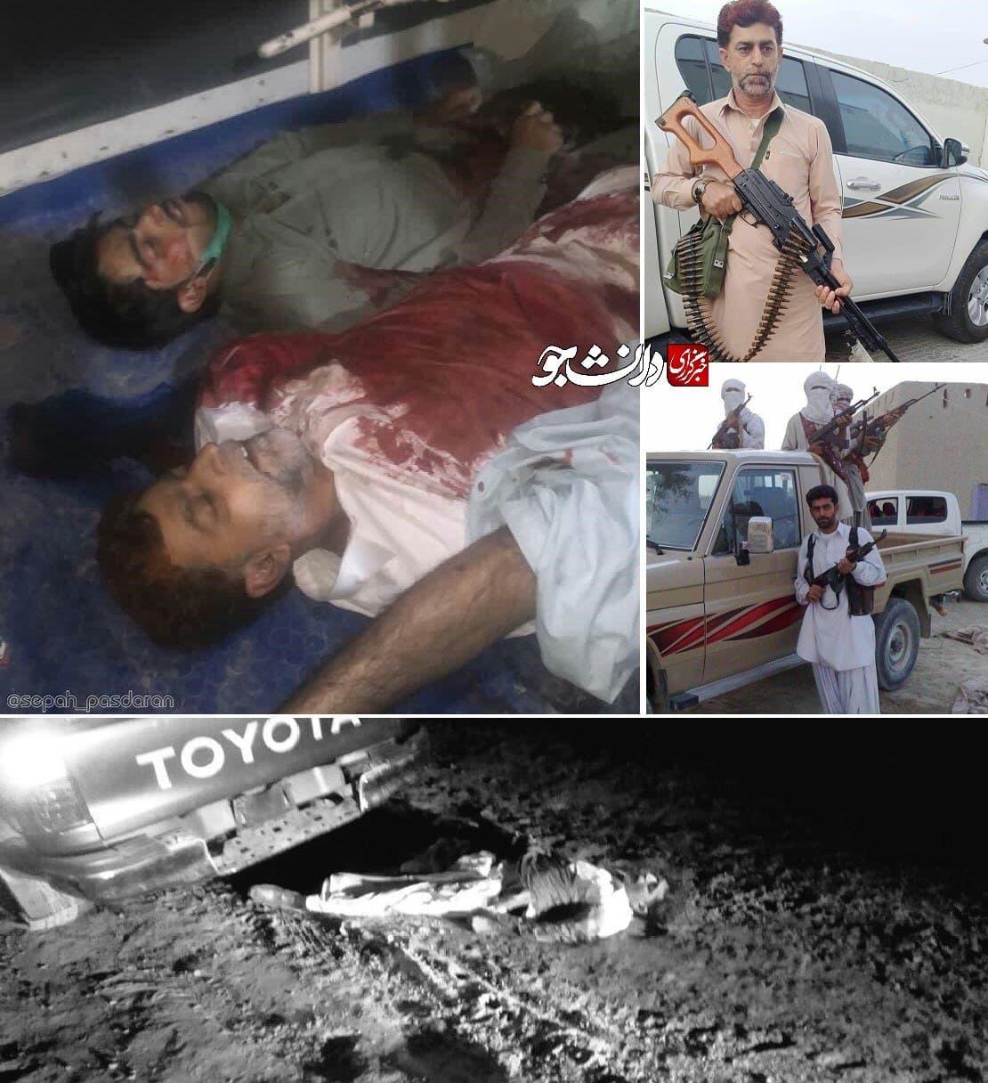 سرکرده جیشالعدل کشته شد؟ +عکس