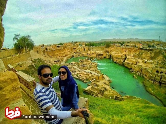 این زوج ۵ سال است به جای سفرهای خارجی ایرانگردی میکنند