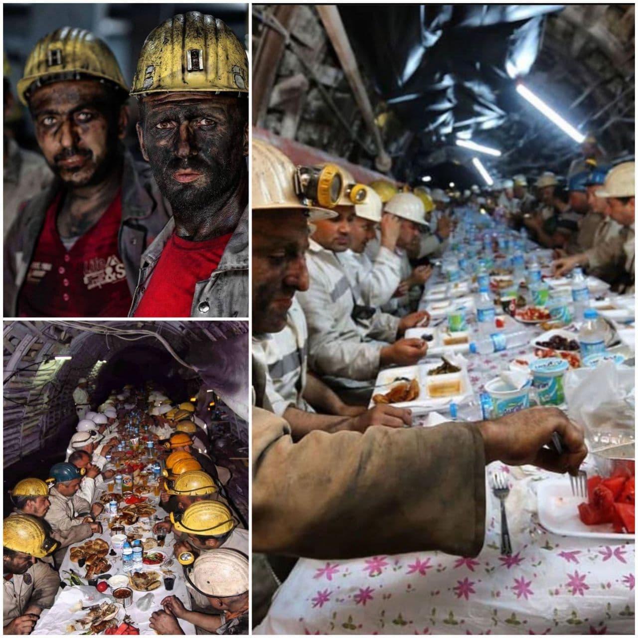 کارگران معدنی