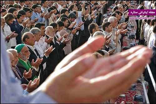 نحوه خواندن نماز عید فطر چگونه است؟