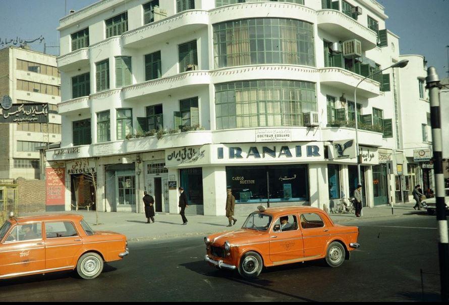 میدان فردوسی تهران سال 47