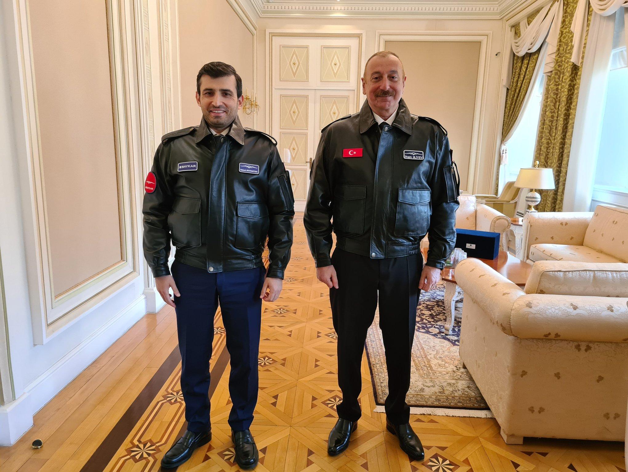 علیاف و داماد اردوغان
