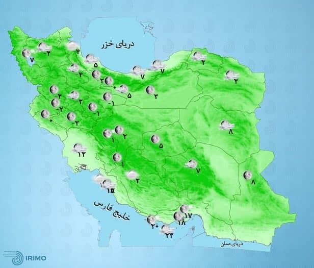 نقشه آب و هوا
