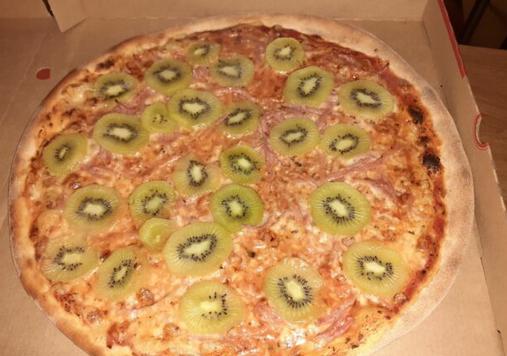 درخواست طلاق به خاطر پیتزا با کیوی! + عکس