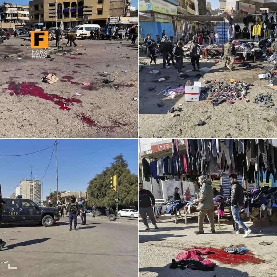 ۲ سعودی عامل عملیات تروریستی بغداد