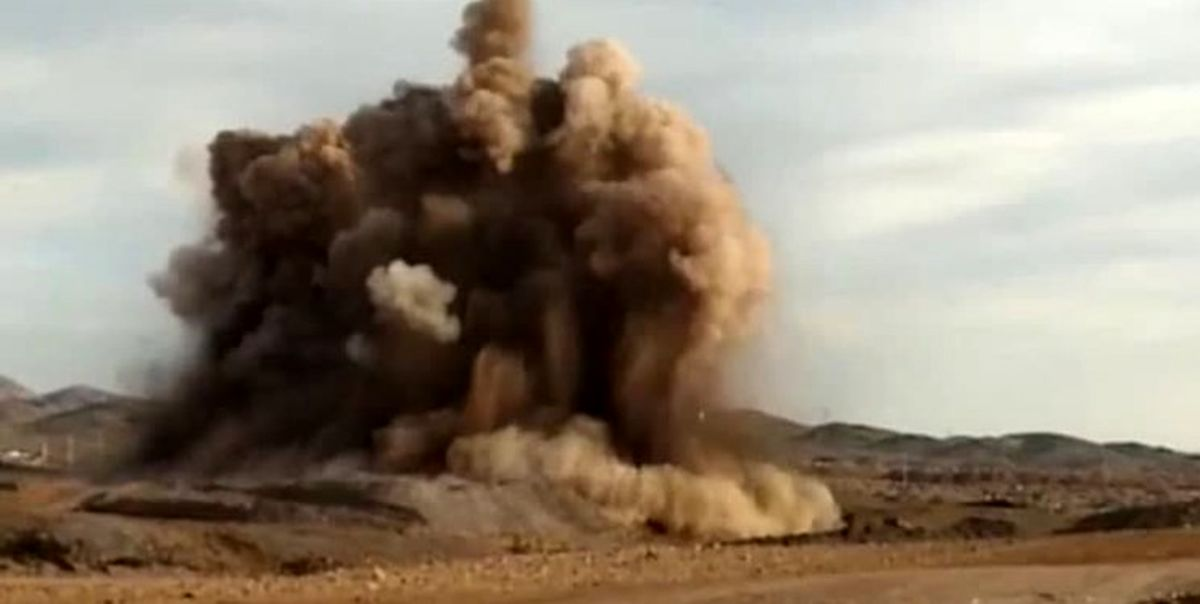 ماجرای صدای انفجارهای امروز پرند چه بود؟+فیلم