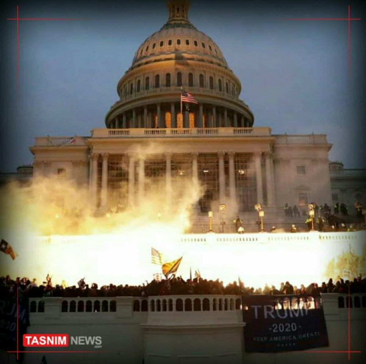 کنگره آمریکا در وضعیت هشدار امنیتی قرار گرفت