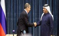 گفتوگوی تلفنی وزرای خارجه روسیه و قطر در خصوص سوریه