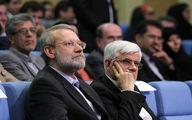 چالش جدید اصلاحات؛ دو قطبی عارف-لاریجانی