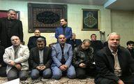 احمدینژاد در منزل سپهبد شهید حاج قاسم سلیمانی +عکس