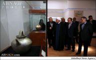 بازدید روحانی از موزه ملی ایران/تصاویر