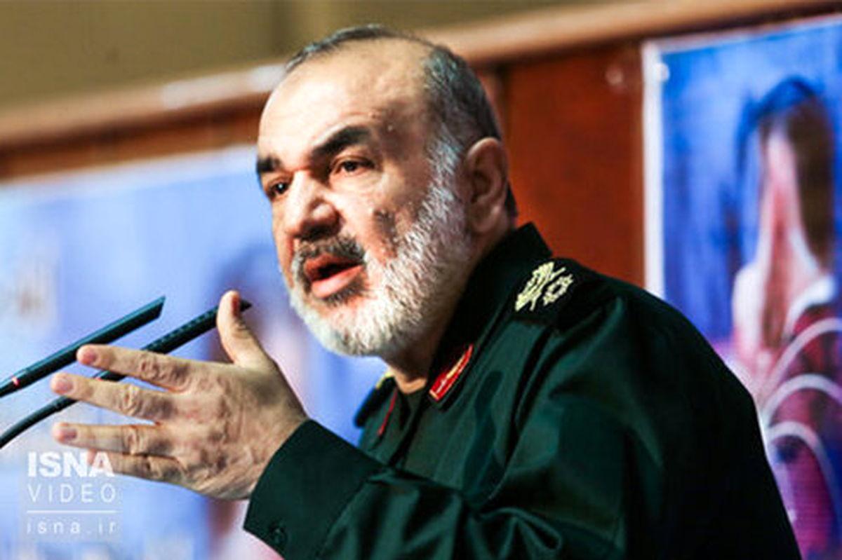فرمانده کل سپاه: نبرد اطلاعاتی بین ایران و آمریکا یک واقعیت جدی است