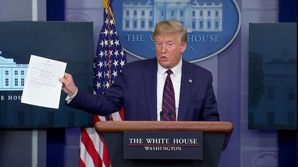 ادعای ترامپ : ایران اگر بخواهد کمک میکنیم