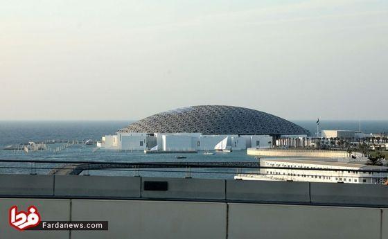 تصاویر: افتتاح موزه لوور در ابوظبی