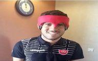 گابریل با گارد ویژه برابر النصر/عکس