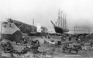 عکس تاریخی از یک کشتی که ناگهان گم شد!