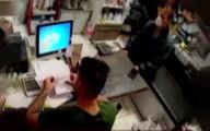 سرقت ماهرانه گوشی همراه یک مغازه دار در تبریز +فیلم