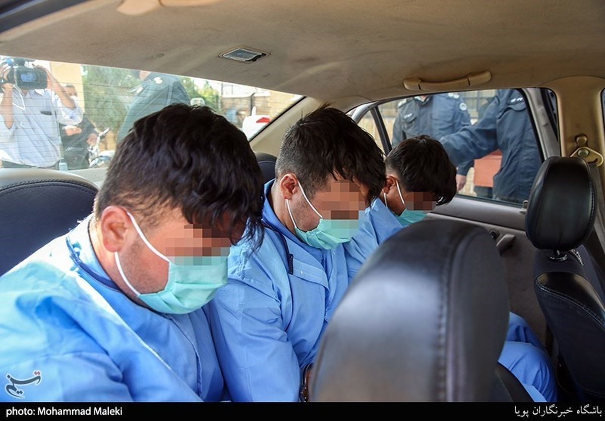 تصاویر: دستگیری اراذل و اوباش محله فلاح