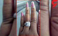 پز دادن یک زن به حلقه ازدواجش سوژه شد +عکس