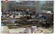 سقوط یک بالابر به داخل مسجد الحرام/کشته شدن بیش از 60 زائر+تصاویر