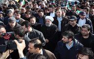 تصاویر: مسئولین و شخصیتهای سیاسی در راهپیمایی ۲۲ بهمن