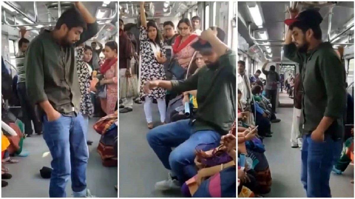 اقدام غیراخلاقی مسافر در مترو خبرساز شد! +فیلم