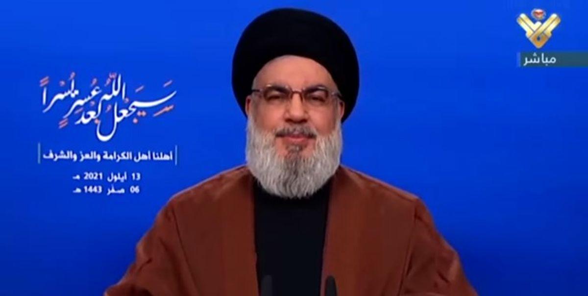 درخواست نصرالله از لبنانی ها در آستانه ورود تانکرهای حامل سوخت ایران