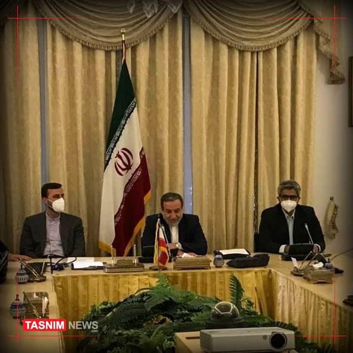 جلسه برجامی سهجانبه ایران، روسیه و چین در وین