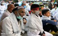 تصاویر: اعزام کاروان زائران پیاده از مشهد به کربلای معلی