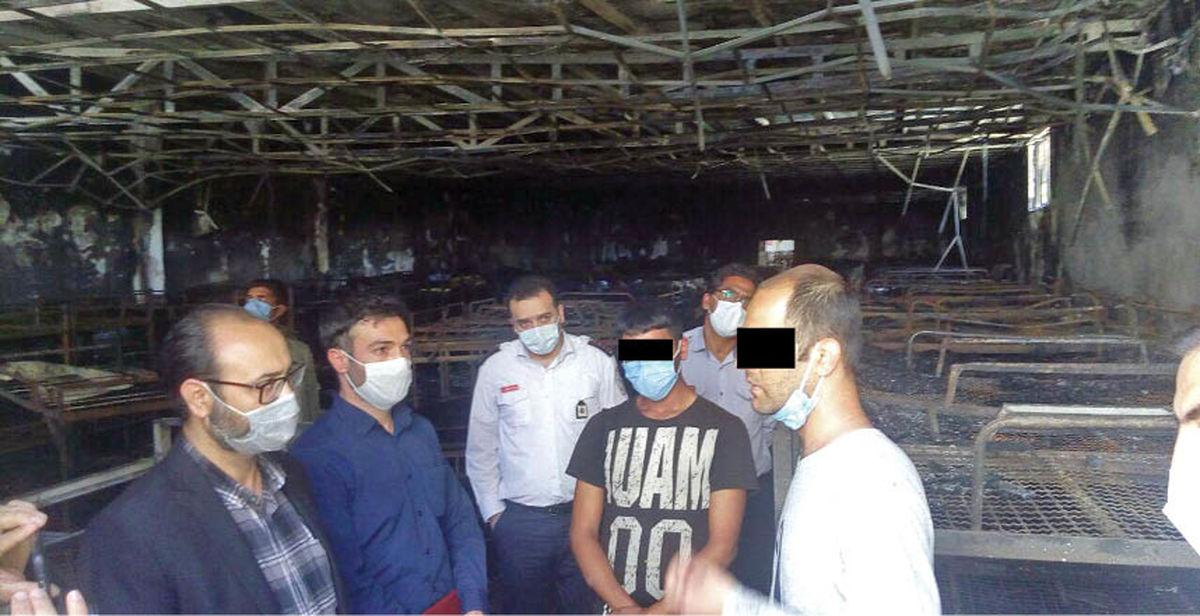 شورش مرگبار برای فرار از کمپ معتادان ! +عکس