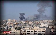 حمله هوایی رژیمصهیونیستی به غزه