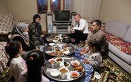 حضور اردوغان در افطاری یک شهروند +عکس