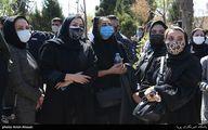مجریان صداوسیما در مراسم خاکسپاری آزاده نامداری +عکس