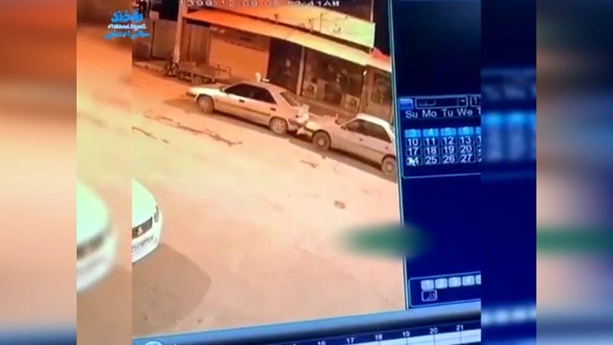 سرقت عجیب خودروی زانتیایی که روشن نشد + فیلم