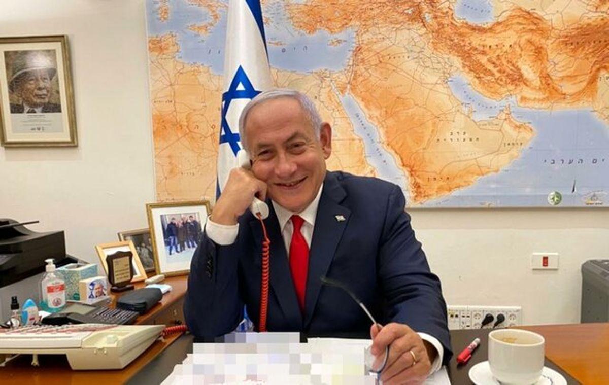 مکالمه تلفنی نتانیاهو و ولیعهد بحرین درباره ایران