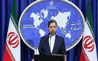 خطیبزاده: انفجار کشتی ایرانی در دست بررسی است