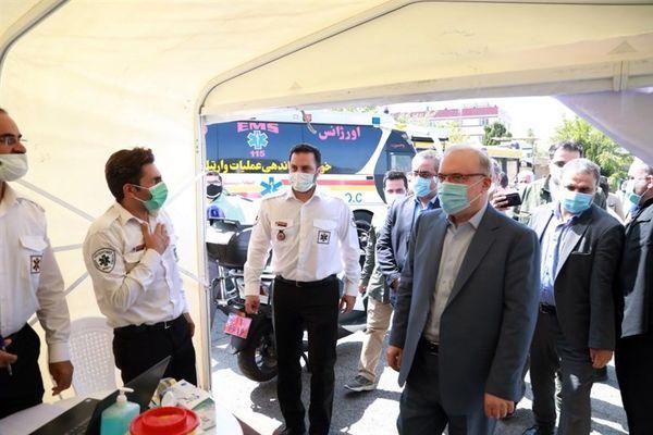 تصاویر: تزریق واکسن کرونا به خبرنگاران