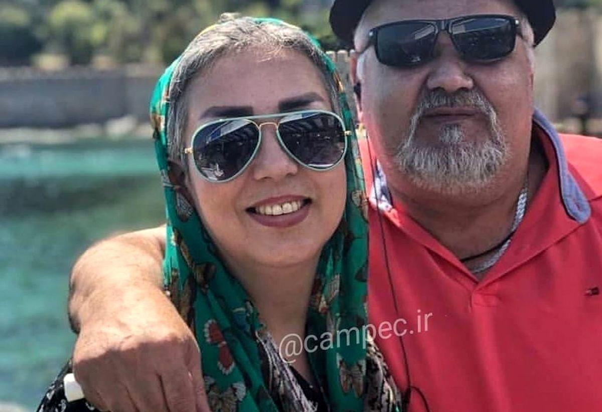 عکس ناراحت کننده از لاغری شدید اکبری عبدی + عکس اکبر در عروسی دخترش