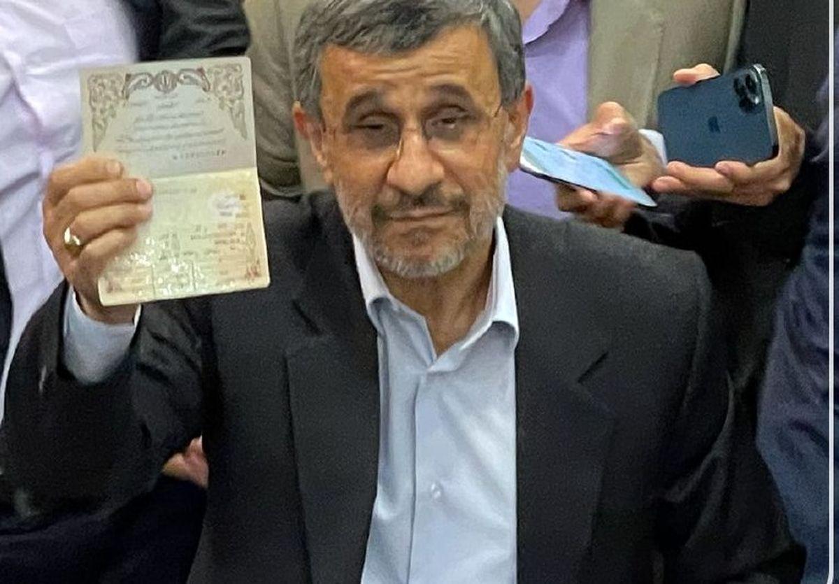 تهدید احمدی نژاد در صورت رد صلاحیتش! +فیلم