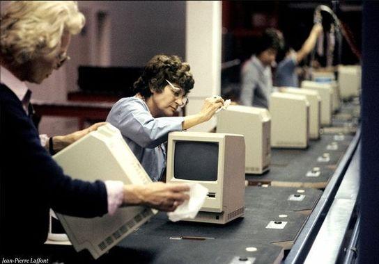 خط تولید کامپیوتر