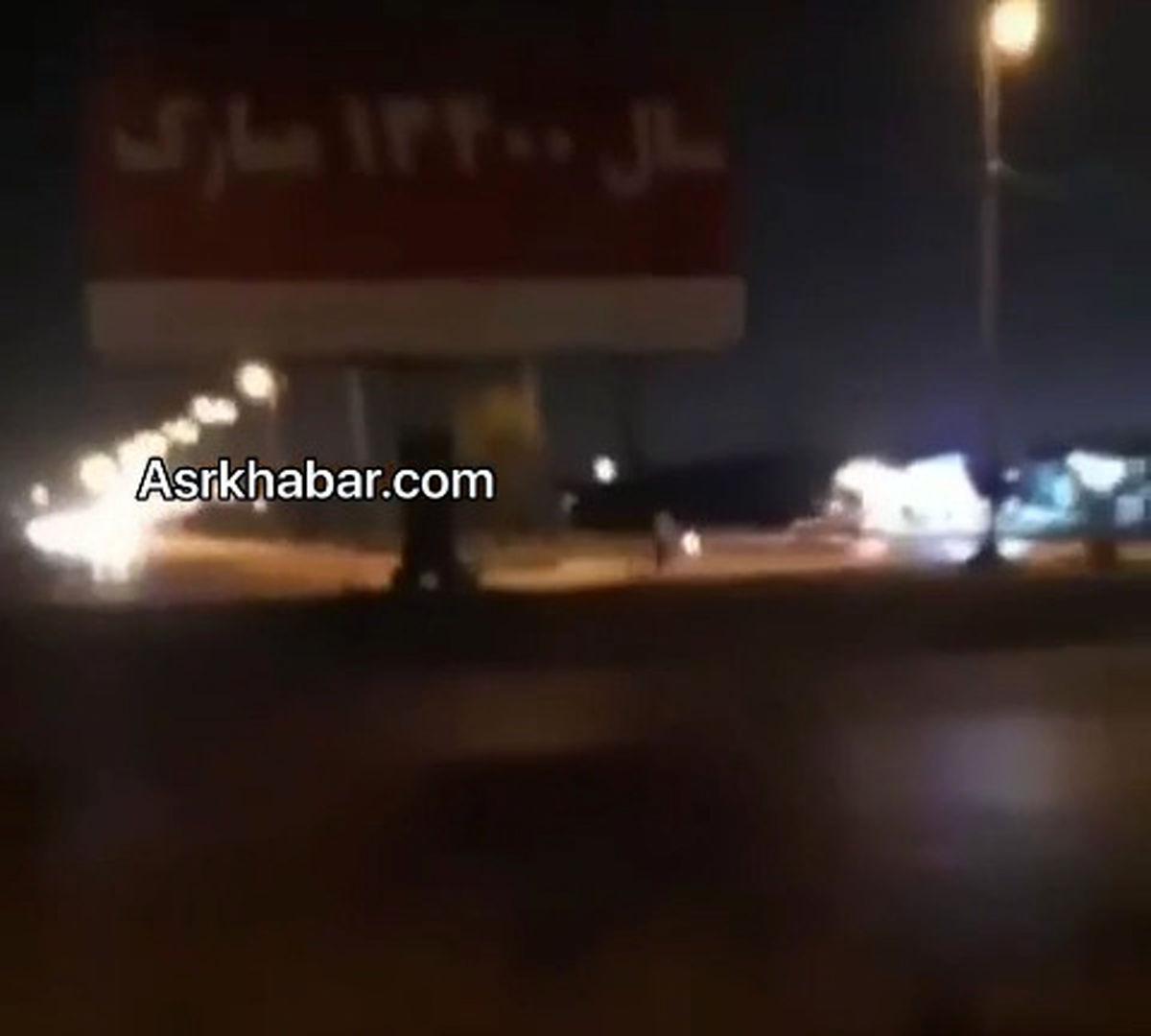 گاف عجیب و جالب شهرداری اهواز +عکس و فیلم